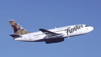 N207AU - Boeing 737-201 - Frontier Airlines