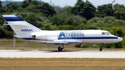 N385AC - Dassault Falcon 20 - Air Cargo Carriers