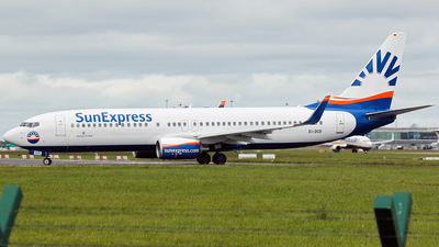 EI-DCD - Boeing 737-8AS - SunExpress Germany