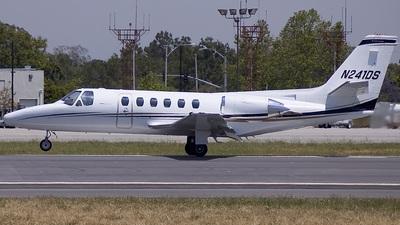 A picture of N241DS - Cessna 550 Citation II - [S5500042] - © Dan Pianelli