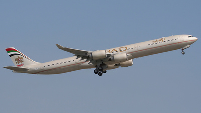 F-WWCJ - Airbus A340-642 - Etihad Airways
