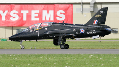 XX170 - British Aerospace Hawk T.1A - United Kingdom - Royal Navy