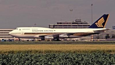 9V-SKA - Boeing 747-312 - Singapore Airlines