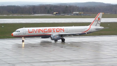 I-LIVA - Airbus A321-231 - Livingston Energy Flight