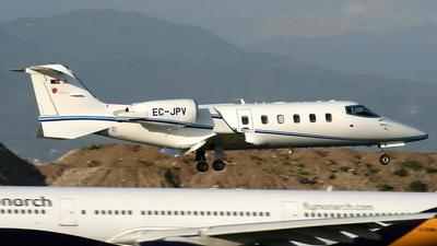 A picture of ECJPV - Learjet 60 - [60296] - © Manuel Llama - Benalmadena Spotters