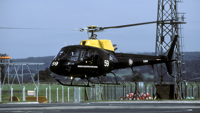 ZJ259 - Eurocopter Squirrel HT.1 - United Kingdom - Defence Helicopter Flying School