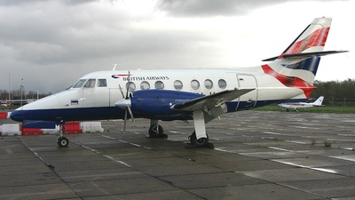 PH-KJB - British Aerospace Jetstream 31 - British Airways (BASE Airlines)