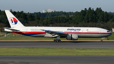 9M-MRK - Boeing 777-2H6(ER) - Malaysia Airlines