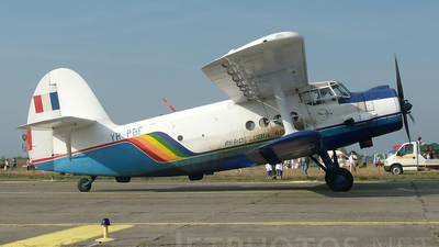 YR-PBF - PZL-Mielec An-2 - Romanian Airclub
