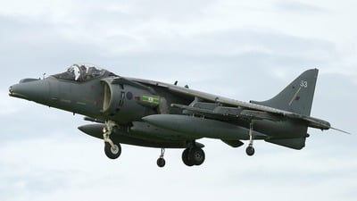 ZD463 - British Aerospace Harrier GR.7 - United Kingdom - Royal Air Force (RAF)