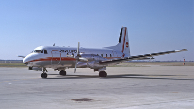 N748LL - Hawker Siddeley HS-748 - Air Illinois