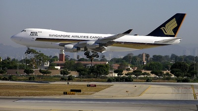 9V-SFC - Boeing 747-412F(SCD) - Singapore Airlines Cargo