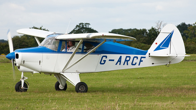 G-ARCF - Piper PA-22-150 Tri-Pacer - Private