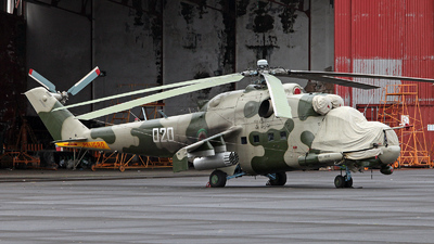 020 - Mil Mi-24 Hind - Equatorial Guinea - Air Force