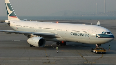 B-LAA - Airbus A330-343 - Cathay Pacific Airways
