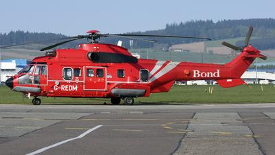 G-REDM - Aérospatiale AS 332L2 Super Puma - Bond Offshore Helicopters