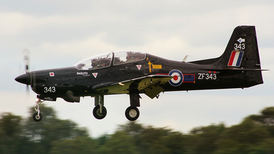 ZF343 - Short Tucano T.1 - United Kingdom - Royal Air Force (RAF)
