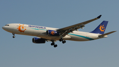 EC-KCP - Airbus A330-343 - Iberworld Airlines