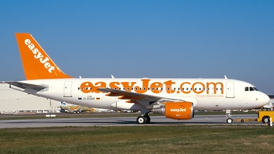 D-AVWF - Airbus A319-111 - easyJet