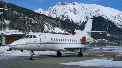 VP-BLB - Dassault Falcon 900 - Private