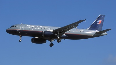 N463UA - Airbus A320-232 - United Airlines
