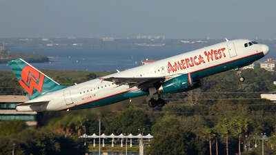 N672AW - Airbus A320-232 - America West Airlines
