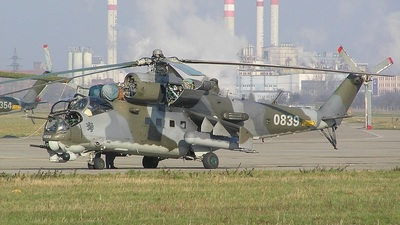 0839 - Mil Mi-24V Hind E - Czech Republic - Air Force