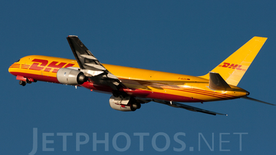 D-ALED - Boeing 757-236(SF) - DHL (European Air Transport)
