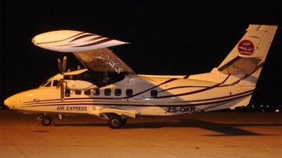 ZS-OXR - Let L-410UVP-E20 Turbolet - Air Express Algeria