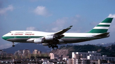 VR-HUI - Boeing 747-467 - Cathay Pacific Airways
