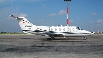 HB-VNE - Beechcraft 400A Beechjet - Private