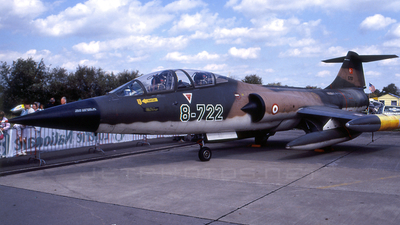 5722 - Lockheed TF-104G Starfighter - Turkey - Air Force