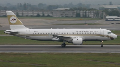 TS-INJ - Airbus A320-211 - Libyan Arab Airlines (Nouvelair)