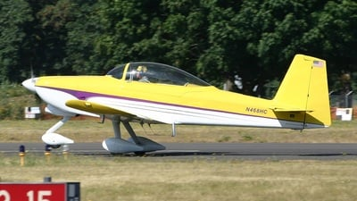 N468HC - Vans RV-8A - Private