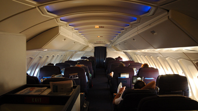 VH-EBX - Boeing 747-338 - Qantas