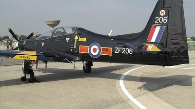 ZF206 - Short Tucano T.1 - United Kingdom - Royal Air Force (RAF)