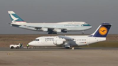 D-AVRH - British Aerospace Avro RJ85 - Lufthansa CityLine
