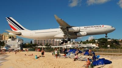 F-GLZL - Airbus A340-313X - Air France