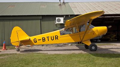 A picture of GBTUR - Piper L18C Super Cub - [183205] - © douglas clayden