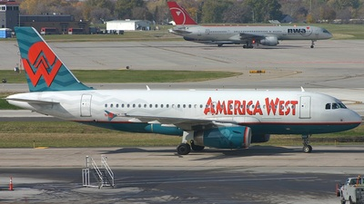 N833AW - Airbus A319-132 - America West Airlines