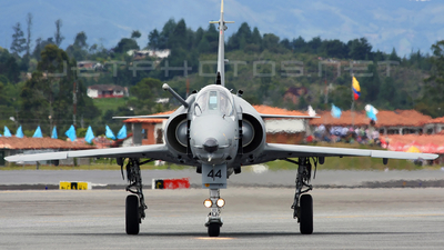 FAC3044 - IAI Kfir C7 - Colombia - Air Force