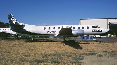 N158MC - Fairchild SA227-AC Metro III - Big Sky Airlines
