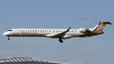 5A-LAE - Bombardier CRJ-900 - Libyan Airlines