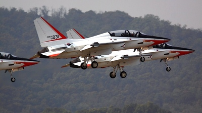 08-031 - KAI T-50 Golden Eagle - South Korea - Air Force