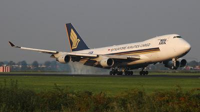 9V-SFB - Boeing 747-412F(SCD) - Singapore Airlines Cargo