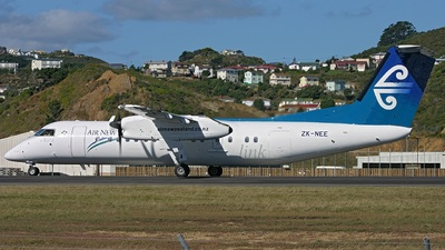ZK-NEE - Bombardier Dash 8-Q311 - Air New Zealand Link (Air Nelson)