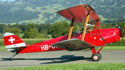 HB-UPM - De Havilland DH-82A Tiger Moth - Private