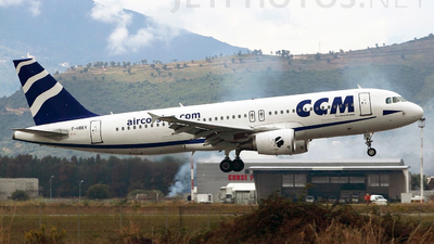 F-HBEV - Airbus A320-216 - CCM Airlines