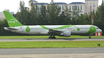 N697DL - Boeing 757-232 - Song