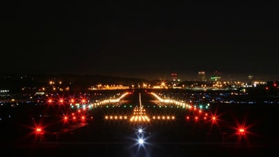 KMHT - Airport - Runway